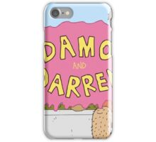 Damo And Darren iPhone Case/Skin