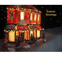 SEASONS GREETINGS TO ONE AND ALL! Photographic Print