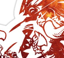 °FINAL FANTASY° Final Fantasy Tactics TWOTL Space Logo Sticker
