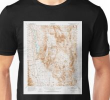 USGS TOPO Map California CA Haiwee Reservoir 297624 1951 62500 geo Unisex T-Shirt