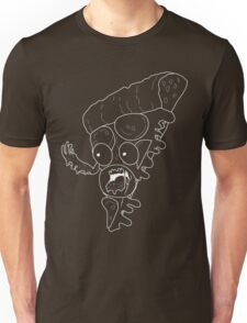 "Existential Pizza ""Black & White"" Unisex T-Shirt"