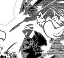 °FINAL FANTASY° Final Fantasy Tactics TWOTL B&W Logo Sticker