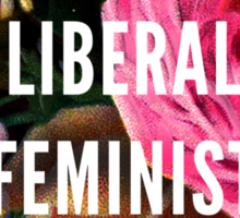 Angry Liberal Feminist Killjoy Sticker