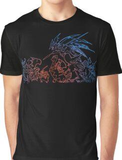 °FINAL FANTASY° Final Fantasy Tactics TWOTL Neon Logo Graphic T-Shirt