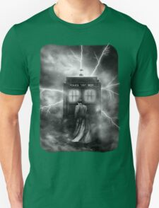 Ligtning Into The Public Police Call Box T-Shirt