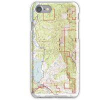 USGS TOPO Map California CA Boca 100569 2000 24000 geo iPhone Case/Skin
