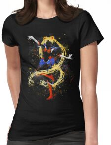 Abtract Sailor Moon Womens Fitted T-Shirt