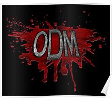 ODM Logo - Black Poster