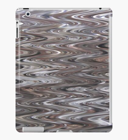 ZIG ZAG - SPECIAL EFFECT ON COVERS AND CASES iPad Case/Skin