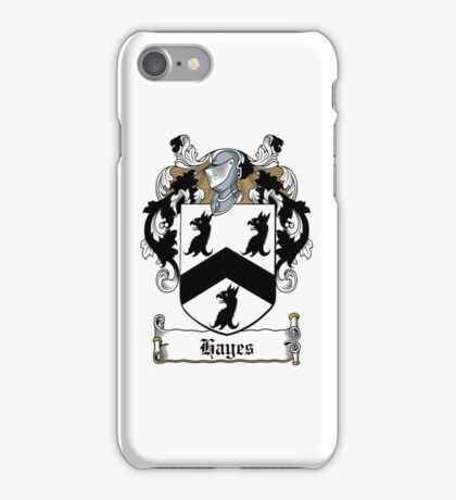 Hayes (Donegal) iPhone Case/Skin