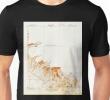 USGS TOPO Map California CA Clear Creek 296002 1912 31680 geo Unisex T-Shirt