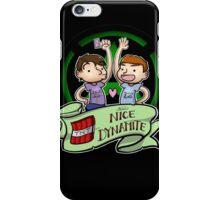 Team Nice Dynamite YEAHYUH iPhone Case/Skin