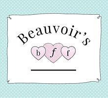 Beauvoir's B.F.F. by gasolinerainbow