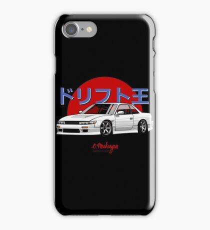 Silvia S13 / Nissan 200SX (white) iPhone Case/Skin