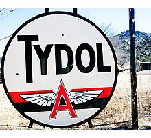 Tydol Oil -- Tidewater Petroleum Photographic Print