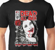 Dead All Over Vampire Comic Book Cover Unisex T-Shirt