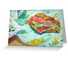 Sandwich Greeting Card