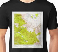 USGS TOPO Map California CA Borrego 296872 1939 62500 geo Unisex T-Shirt