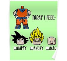 Today I feel Poster