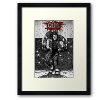 ODM - Against the wall Framed Print