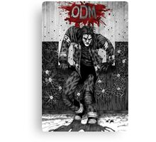 ODM - Against the wall Canvas Print
