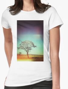 Light Tree Womens Fitted T-Shirt