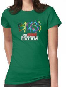 JOEY BADA$$ C.R.E.A.M Paper Trail$ B4.DA.$$ Womens Fitted T-Shirt