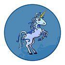 Happy Unicorn Power by Silvia Neto
