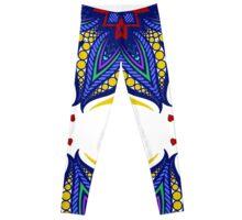 Mandala tribal ethnic ornament Leggings