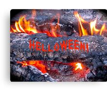 HELLOWEEN - HALLOWEEN CARD AND COVERS Canvas Print