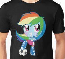 cute Equestria girls - Rainbowdash Unisex T-Shirt