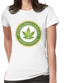 Cannabis Marijuana Hash Slacker pot-head culture Womens Fitted T-Shirt
