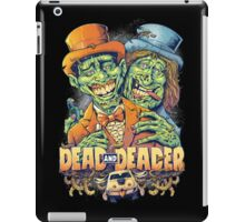 Dead and Deader Zombie Tribute to Dumb and Dumber iPad Case/Skin