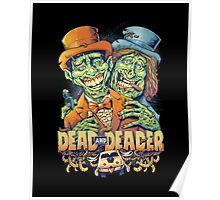 Dead and Deader Zombie Tribute to Dumb and Dumber Poster