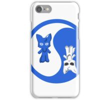 yin yang cat tees 11 iPhone Case/Skin