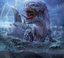 GODAI Kaiju SUI (Water)  by hefranco