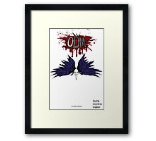 ODM - Feather Cowl Framed Print