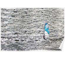 Wind Surfer. Poster