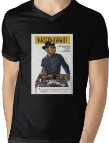 West World Mens V-Neck T-Shirt