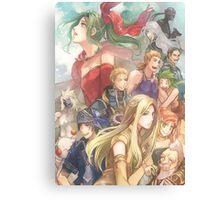 Fantasy Team Canvas Print