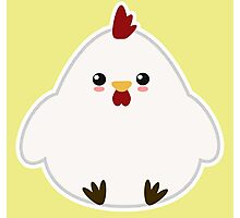 Cute Chicken Photographic Print
