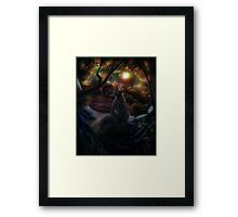Desolate Expanse Framed Print
