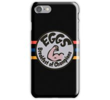 """EGGS"" BREAKFAST OF CHAMPIONS - JAMES HUNT iPhone Case/Skin"