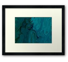 Blue Sapphire Framed Print