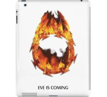 ODM - Eves burning halo white iPad Case/Skin
