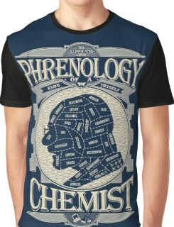 Phrenology of a chemist - Breaking Bad Graphic T-Shirt