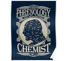 Phrenology of a chemist - Breaking Bad Poster