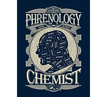 Phrenology of a chemist - Breaking Bad Photographic Print