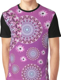 Mandala purple Graphic T-Shirt