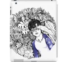 Not seeing is a flower 見ぬが花 iPad Case/Skin